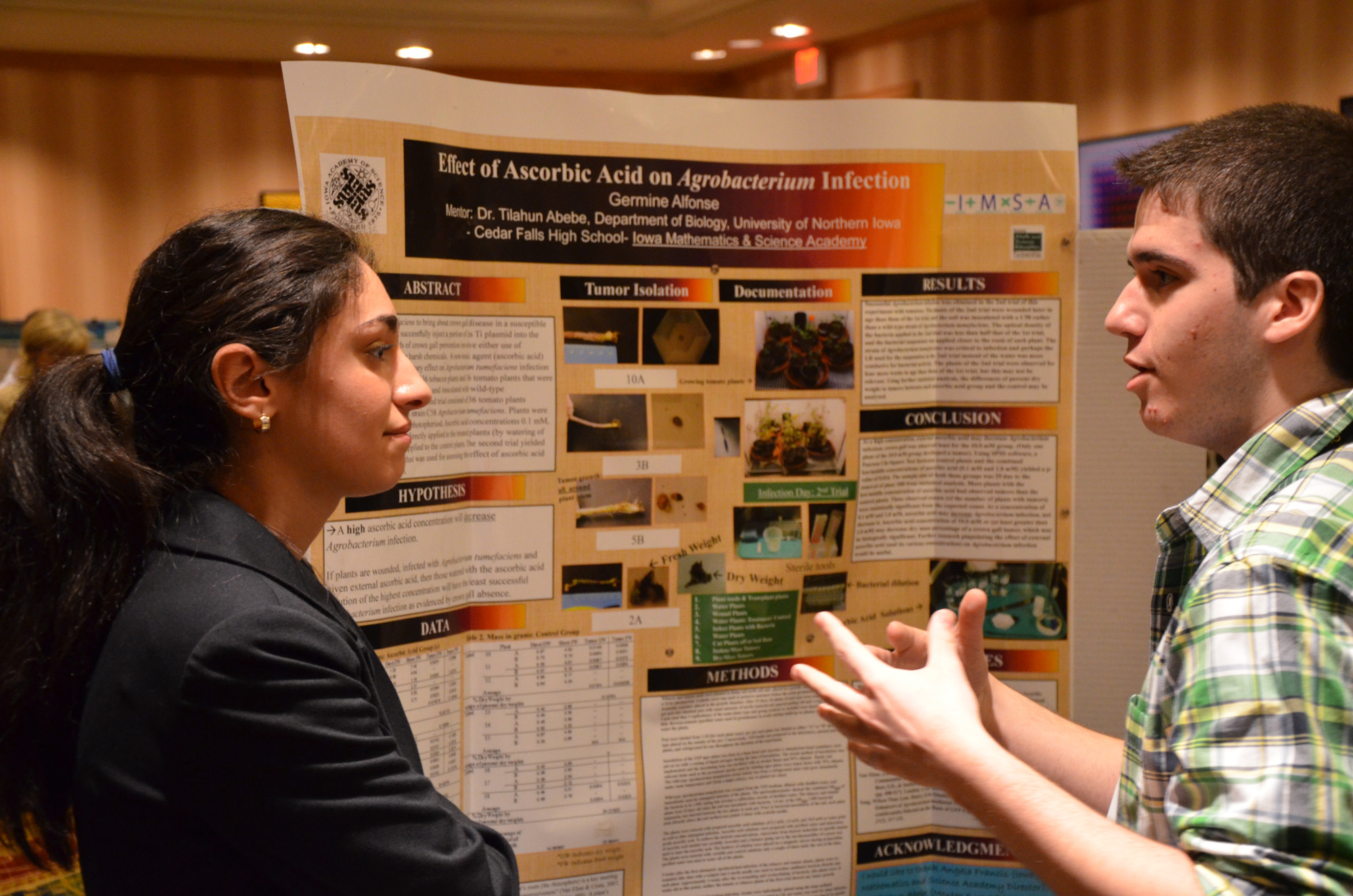 The National Junior Science & Humanities Symposium Was This Weekend!