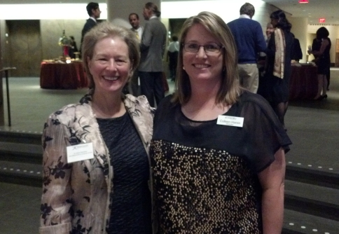 L to R, Susan Assouline, Colleen Harsin