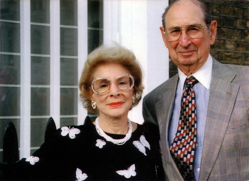 Mike and Jackie Blank, Co-founders of the Belin-Blank Center