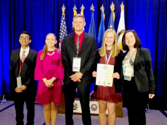 2018 Iowa JSHS winners at the National JSHS competition