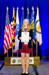 Iowa student Cheryl Blackmer won 1st place at Nationals in 2018!