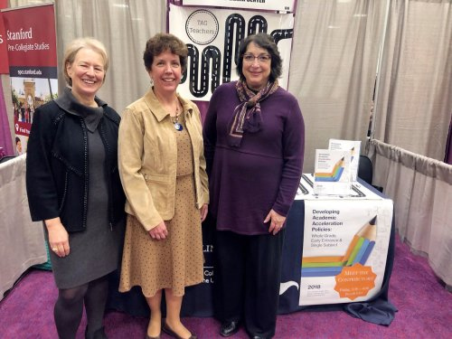 Susan Assouline, Ann Lupkowski-Shoplik & Wendy Behrens at NAGC